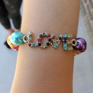 "3 for $15 Sale ""Love"" bracelet"